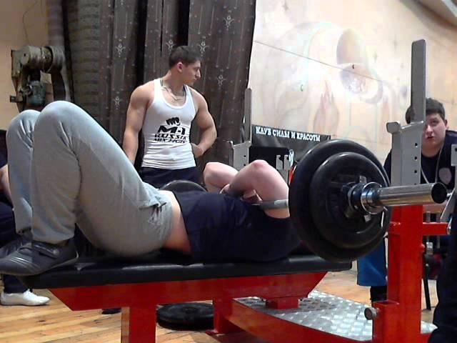 Полушин С, СВ=89,45 кг, 75 кг на 57 повт, Чемп ТО по РЖ, 01 12 13