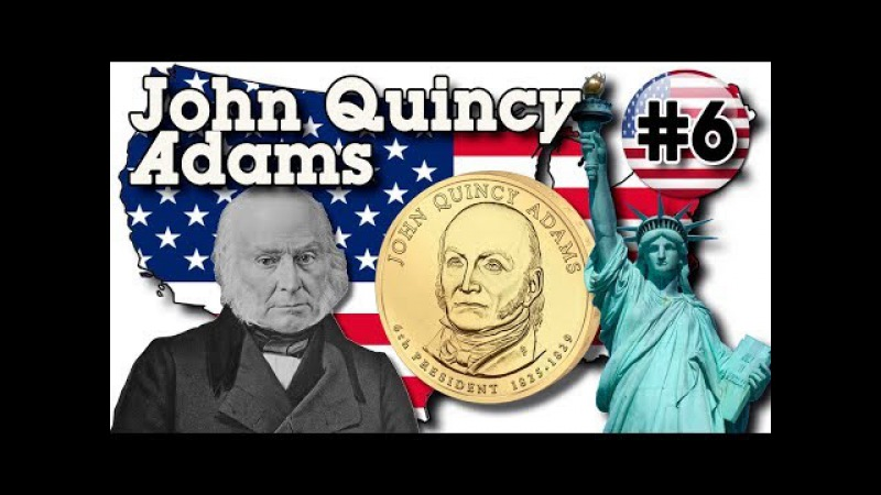 John Quincy Adams $1 (United States of America) - 6-й Президент США Джон Куинси Адамс 1 доллар