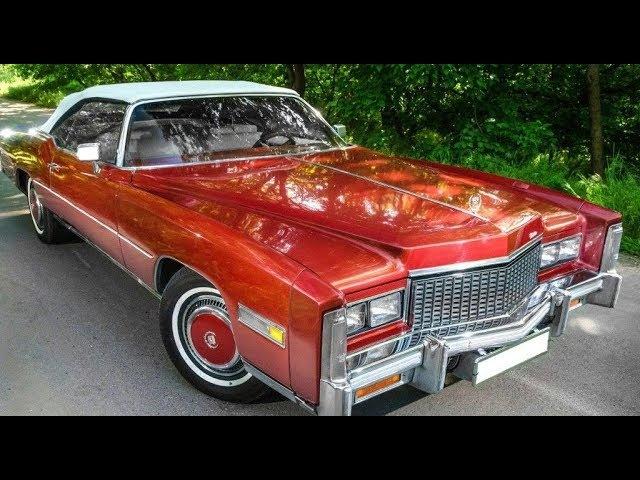 Старый знакомый - Cadillac Eldorado 1976 года.
