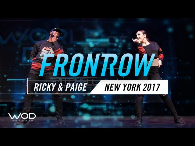 Ricky Cole Paige Modereger   FrontRow   World of Dance New York 2017   WODNY17   Danceproject.info