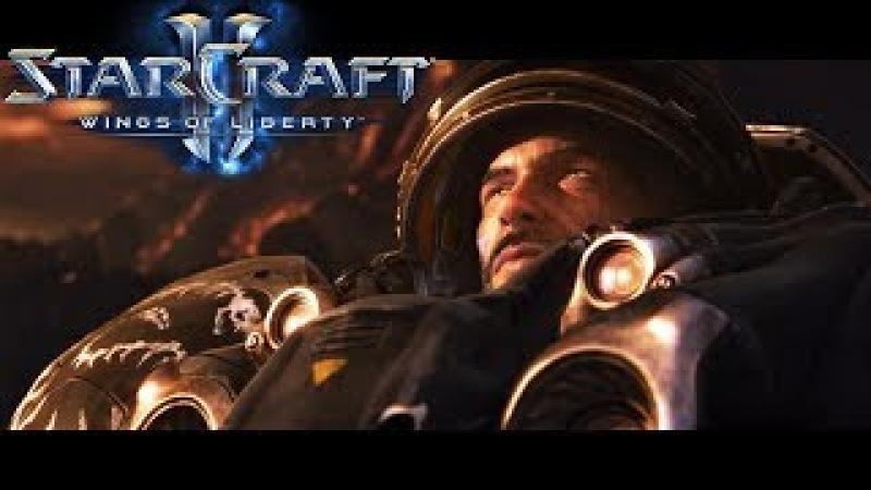 StarCraft 2: Wings Of Liberty - All Cinematics Cutscenes