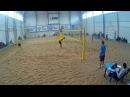 Beach volley Cup U20 Russia 2018 M23 Kruk-Lewicki and Ivanov-Kuzmin