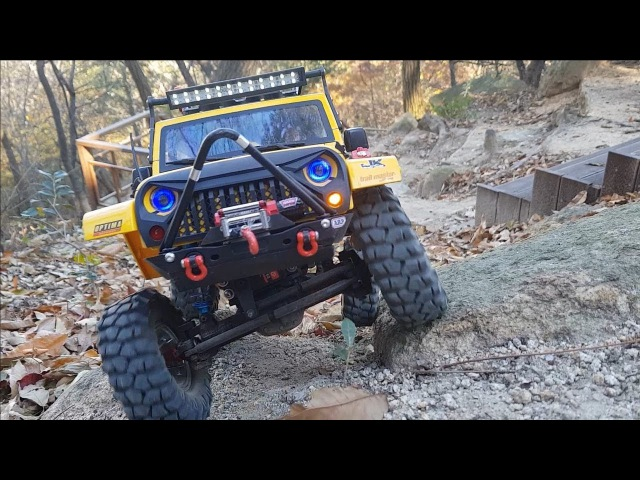 MST CFX Jeep Rubicon Gaya Off-Road Adventure 3