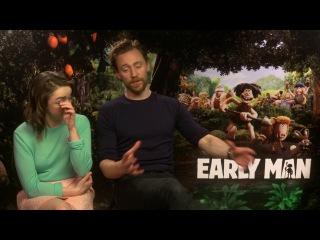 Early Man || Tom Hiddleston & Maisie Williams Generic Interview || SocialNews.XYZ