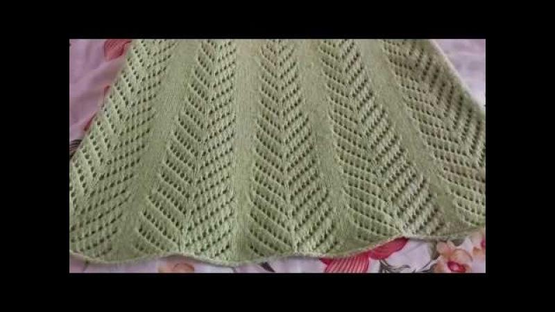 Платье, туника и майка спицами.