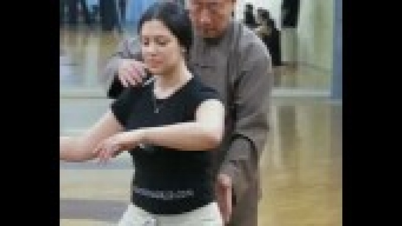 Chen Xiaowang teaching in MoscowЧэнь Сяован в Москве