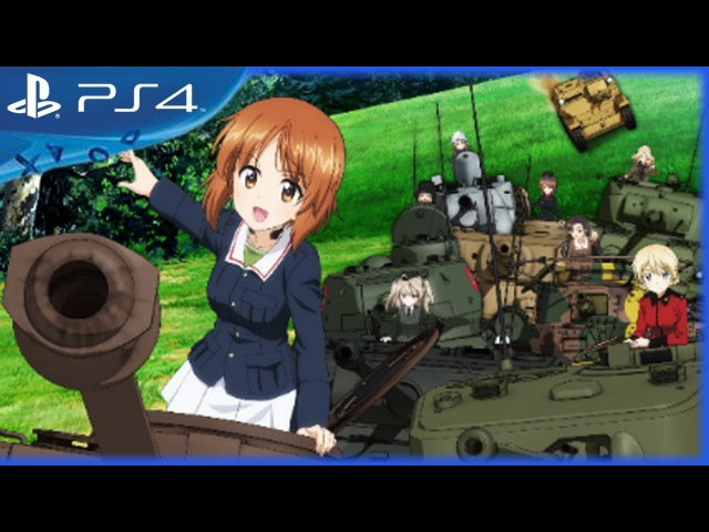 Girls und Panzer: Dream Tank Match (2018) - Official Trailer 1 - English Subs - PS4