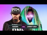 Naomi vs. Jimmy Uso Superstar Impersonation Battle