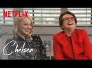 Emma Stone and Billie Jean King   Chelsea   Netflix