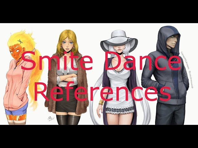 All Smite Dance References