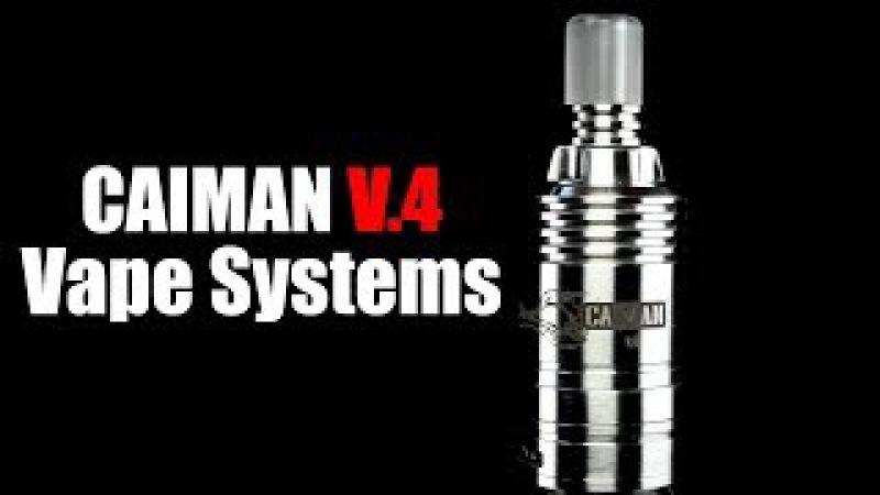 CAIMAN V.4 RDA   By Vape Systems