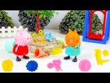 Свинка Пеппа - Лепим из пластилина - Видео для малышей