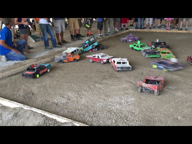 Martinsville, IN. RC Derby Monsters 8/6/16 Vid 2
