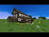 Minecraft Bauernhof Pferdestall Lets build