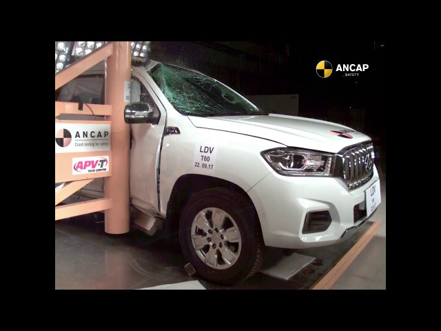 ANCAP SAFETY RATING: LDV T60 (August 2017 - onwards)