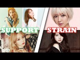Strain VS Support K-Pop Female Vocalists (A4 - F5)