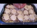 Вермишель запечённая с фаршем и грибами/ лёгкая,приятная и вкусная