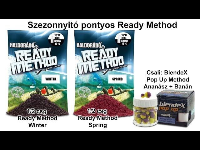 Tavaszi fogós receptek felmelegedő vizekre 1. rész - Szezonnyitó pontyos Ready Method