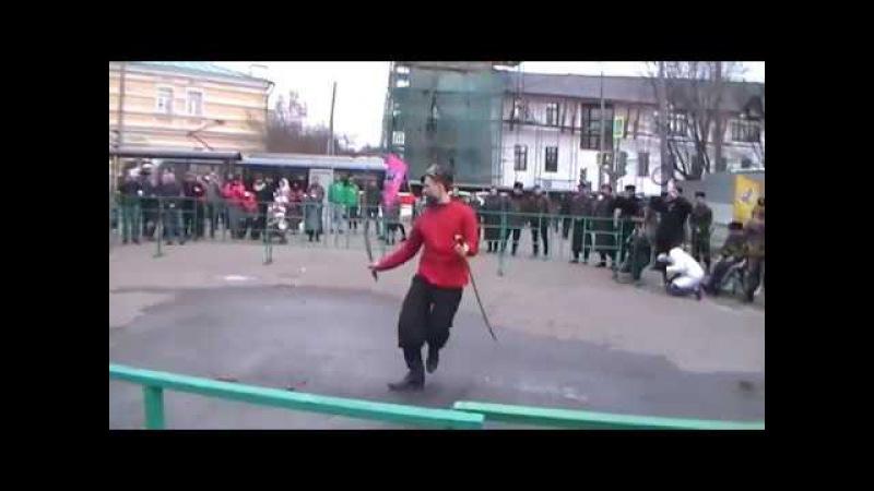 Богдан Гайденко на празднике в Свято Даниловом монастыре