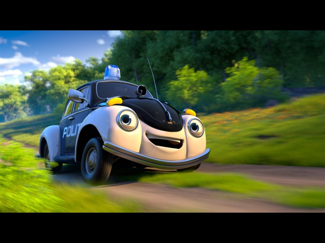 Pelle Politibil på sporet - trailer 2013
