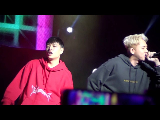 로꼬 쌈디 니가 알던 내가 아냐 Remix Feat Loco Simon Dominic live 20161023 Yes24 Livehall