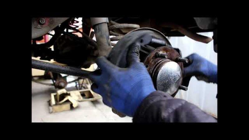 Замена задних тормозных колодок барабанов и цилиндров Chevrolet Niva 4х4 Шевроле Нива 20...