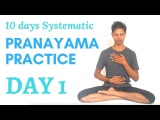 10 Days Systematic Pranayama Practice Day 1 - Yoga with Amit