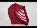 How to sew a hood two sided Jak uszyć dwustronny kaptur