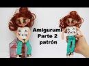 Amigurumi muñeca moderna adolescente parte 2 4