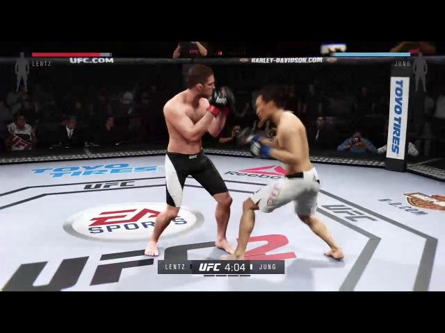 UFL 29 - FW - XBOX - CONTENDER FIGHT - CHAN SUNG JUNG (soroka1983) vs NIK LENTZ (CrazyRussian209)