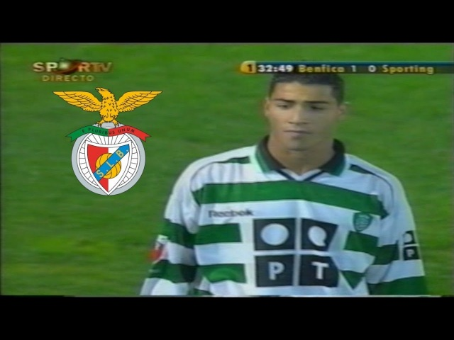 Ricardo Quaresma Vs Benfica (Away) 2001/02