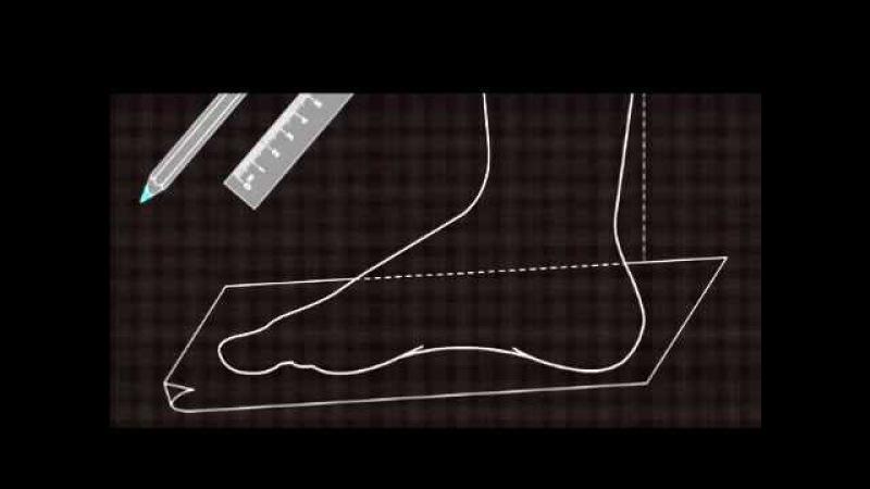 Как измерить длину стопы