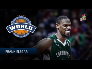 VTBUnitedLeague • 2018 All Star Game Starter   World Stars   Frank Elegar