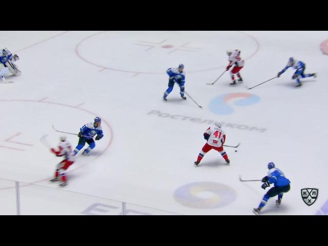 КХЛ (Континентальная хоккейная лига) - Моменты из матчей КХЛ сезона 16/17 - Гол. 1:4. Станислав Чист