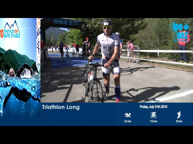 Alpe dHuez - TRIATHLON EDF LONG 2015
