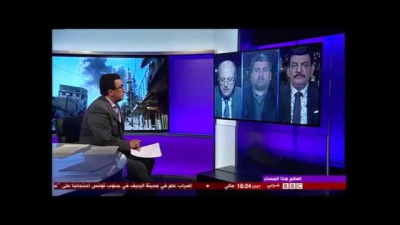 ВЕЙЛ ИЮЛЬВАНпресс-секретарь группировки Фейляк ар-Рахман(восточная Гута) засветился на британском канале BBC