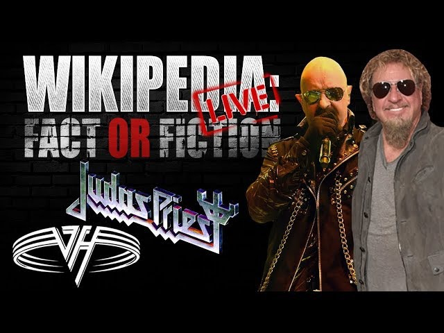 Rob Halford Sammy Hagar - 'Wikipedia: Fact or Fiction?' LIVE