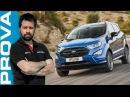 Ford EcoSport restyling migliora nel look e nel feeling di guida
