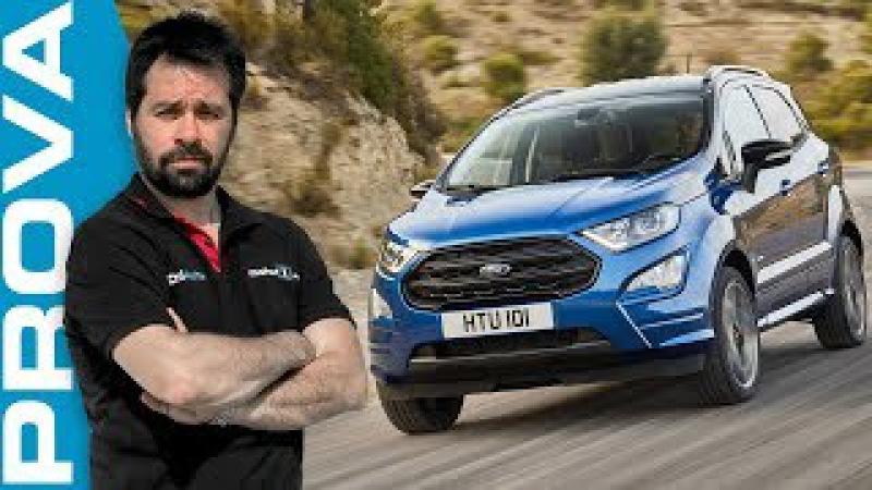 Ford EcoSport restyling | migliora nel look e nel feeling di guida