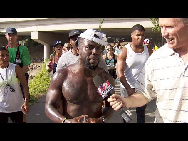Kevin Hart Beats Usain Bolt In 100m Race For The second Time
