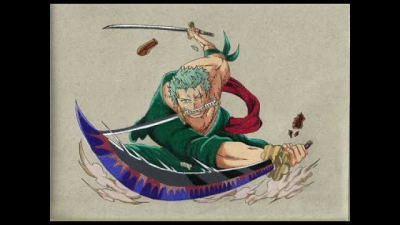 Speed Drawing - Roronoa Zoro [ONE PIECE]