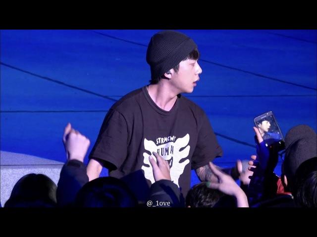 [14.02.2018] Woo Won Jae - Cough (Gowonju Winter Dancing Carnival Mini Concert 2018)
