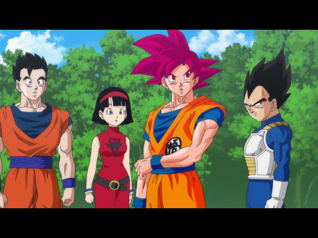 Dragon Ball Z ⍟ A Batalha dos Deuses ⍟ Ritual Completo do Deus Super Saiyajin ⍟ Dublado ⍟ PT-BR
