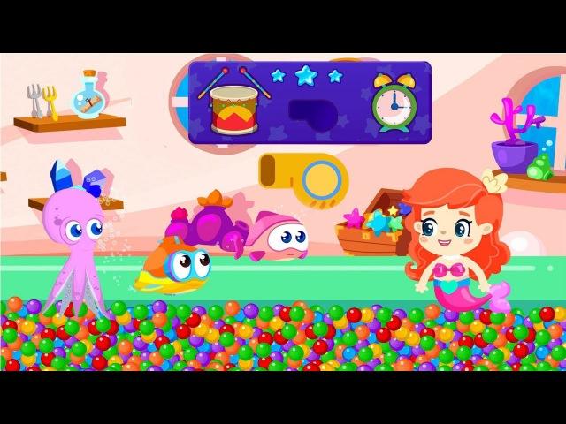 BiBaBu la parola magica Gioca con la piccola sirenetta e Oscar il sottomarino Cartoni animati