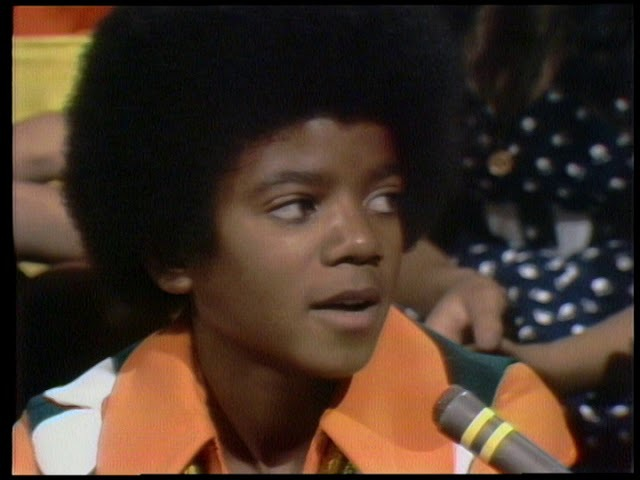 American Bandstand 1972 Interview Michael Jackson