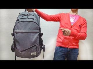 Рюкзак TuGuan с потайной сеткой и USB портом