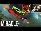 Miracle- Ember Spirit Divine Rapier Insane Fire Remnant Dodge - Dota 2