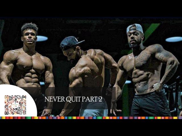 [NEVER QUIT PART 2 ] Aesthetics Fitness Motivation