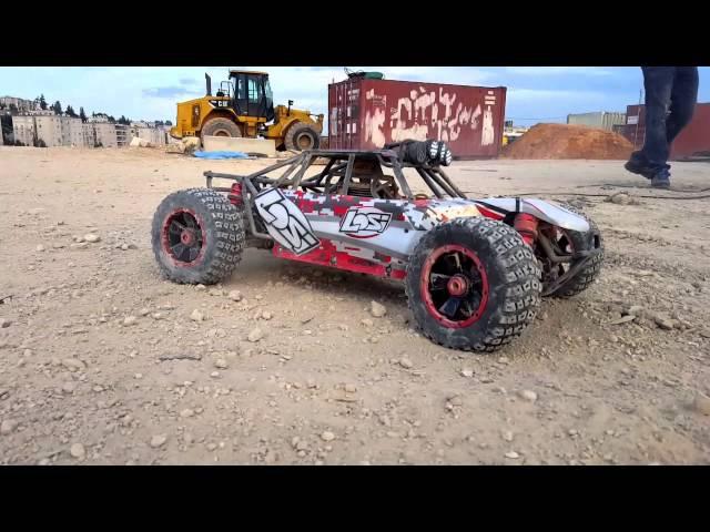 Rc Adventure - Losi t5 vs Losi desert bashing