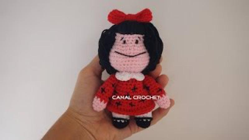 Mafalda amigurumi tutorial